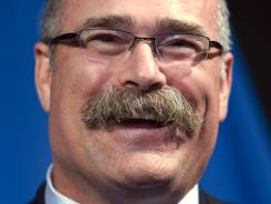Paul MacLean speaks with the news media after being named coach of the Ottawa Senators.