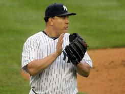 Bartolo Colon s 5-3 this season with the Yankees.