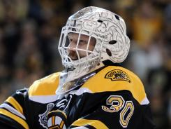 Boston goalie Tim Thomas is the front-runner for playoff MVP, win or lose.