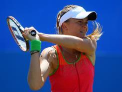 Daniela Hantuchova of Slovakia defeats Venus Williams of the USA on Thursday at the Aegon International in Eastbourne, England.