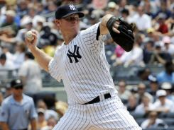 Journeyman Brian Gordon made his ankees debut against the Rangers.