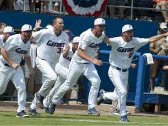 The Florida Gators are in Omaha hoping to bring home the school's first College World Series championship.