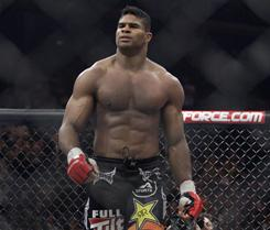 Alistair Overeem, who is also a kickboxer, is on a10-bout MMA unbeaten streak.