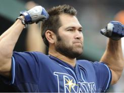 Tampa Bay Rays DH Johnny Damon Damon became just the 11th player all-time to have 500 doubles, 100 triples, 200 homers and 2,500 hits Saturday after a first inning double against the Florida Marlins.