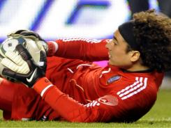 Mexico goalkeeper Guillermo Ochoa is one of five players barred from the CONCACAF Gold Cup after testing positive for a banned substance.