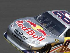 The owner of energy drink Red Bull plans to leave NASCAR at the end of this season, the Associated Press reported. Above is driver Brian Vickers during a qualifying for the Daytona 500 earlier this season.