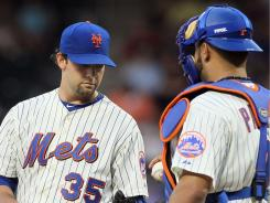 Mets rookie Dillon Gee took his first loss of the season Tuesday. The Athletics, winners of seven straight, won 7-3 in New York.