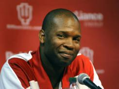 Former Indiana star Calbert Cheaney is back at the school as an assistant coach to Tom Crean.