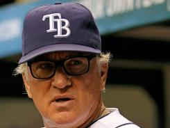 Tampa Bay Rays manager Joe Maddon admits he broke a rule when he let outfielder Sam Fuld warm up as a pitcher but pulled him before he threw a pitch Monday against the Milwaukee Brewers.