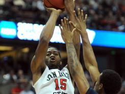 San Diego State's Kawhi Leonard, an aggressive rebounder with all-around skill, is expected to go to the Wizards in Thursday's NBA Draft.
