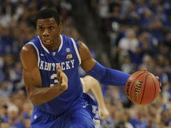 Terrence Jones decided to stay at Kentucky for his sophomore season instead of entering the NBA draft.
