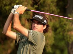 Bubba Watson, the defending champion at The Travelers Championship, could take control in the FedExCup standings with a win.