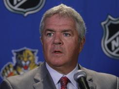 """""""We are going to try to a lot of things over the next 10 days,"""" Panthers general manager Dale Tallon said."""