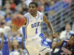 Despite a toe injury that limited him to 11 games at Duke, Kyrie Irving is likely to be the top overall selection in the NBA draft.