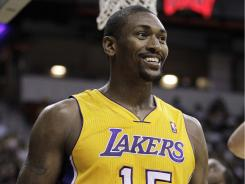 The Los Angeles Lakers' Ron Artest wants to change his name to Metta World Peace. Artest's attorney filed a petition in Los Angeles Superior Court on Thursday.