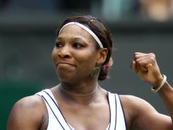 Serena Williams spent time Thursday with a British boy stricken with cancer.