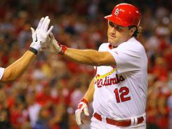 Lance Berkman hit his 18th home run of the season on Thursday in the Cardinals' 12-2 win over the Phillies. He now has 54 RBI after only having 58 in all of 2010.