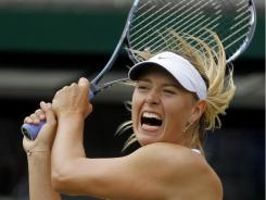 Maria Sharapova of Russia ousted the British favorite, Laura Robson, 7-6 (7-4), 6-3 on Friday in the second round of Wimbledon.