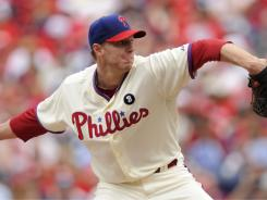 Roy Halladay won his 10th game of the season.