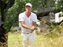 Fredrik Jacobson of Sweden earns a victory Sunday in the Travelers Championship at  TPC River Highlands in Cromwell, Conn.