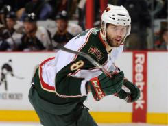 The Sharks picked up offensive defenseman Brent Burns from the Wild.