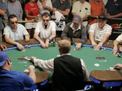 The crackdown on online gambling could hurt of the World Series Poker.