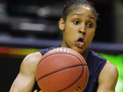 Connecticut's Maya Moore has been honored as the NCAA's top female athlete after she was awarded the Honda-Broderick Cup.