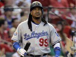 Manny Ramirez played for the Dodgers for parts of three season (2008-10).
