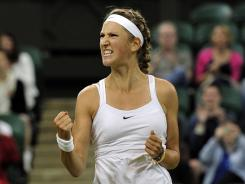 Victoria Azarenka, 21, of Belarus ousts Tamira Paszek of Austria on Tuesday at Wimbledon to reach a Grand Slam semifinal for the first time.