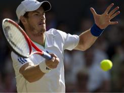 Andy Murray advanced to the Wimbledon semifinals with a 6-3, 6-3, 6-4 on Wednesday. A title there would be historic in Britain.