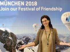 Former German figure skater Katarina Witt is the ambassador for the Munich bid to host the 2018 Olympic Winter Games.