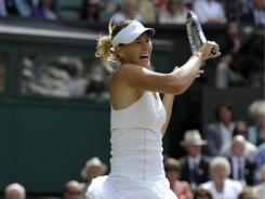 At Wimbledon, Maria Sharapova finds herself in a Grand Slam final for the first time in over three years.