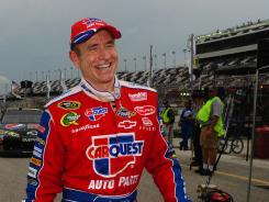 Mark Martin won the pole for Saturday's Coke Zero 400, giving Hendrick Motorsports its third pole of the season, all at restrictor-plate events.