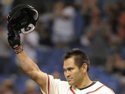 Rays designated hitter Johnny Damon surpassed Ted Williams to move into into 71st place on the all-time hits list with a four-hit effort Saturday night. The Rays beat the Cardinals, 5-1, ending their five-game winning streak.