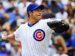 Cubs starting pitcher Rodrigo Lopez tossed seven shutout innings Sunday afternoon as the the Cubs topped the White Sox, 3-1.