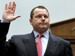 Roger Clemens, being sworn in before his 2008 testimony beforeaHouse committee, is charged with lying to Congress in his federal criminal trial, which starts Wednesday.
