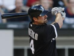White Sox first baseman Paul Konerko ranks fourth in the American League in OPS and home runs, but he didn't make the All-Star team.
