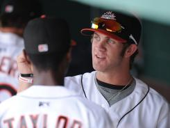 Washington Nationals phenom prospect Bryce Harper, shown with the Class A Hagerstown Suns, has been promoted to Class AA Harrisburg.