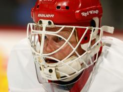 The Red Wings could always bring back Chris Osgood as Jimmy Howard's backup.