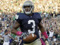 Michael Floyd is hopeful of returning to Notre Dame after being suspended earlier this spring.