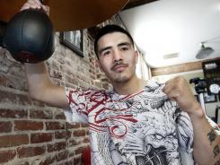 "Undefeated WBA Lightweight champion Brandon ""Bam Bam"" Rios uts his title on the line against Urbano Antillon Saturday."