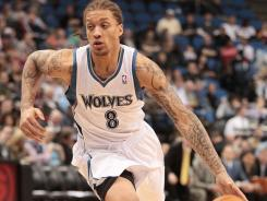 Michael Beasley, seen here playing in a game against the Rockets in April, faces a petty misdemeanor charge for possession of marijuana stemming from a June 26 incident.