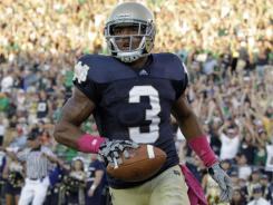 Notre Dame wide receiver Michael Floyd hopes to return to the field this season after being suspended following an arrest for drunken driving.