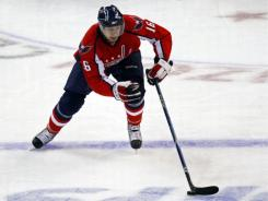 Right wing Eric Fehr, traded by the Washington Capitals to the Winnipeg Jets, was limited to 52 games this season.