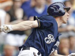 Sixteen-year veteran Craig Counsell delivered a ninth-inning pinch-hit sacrifice fly on Sunday, bringing in the game-winning run. The Brewers beat the Reds 4-3.