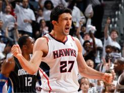 Atlanta Hawks center Zaza Pachulia spent his teen and early adult years playing in Turkey and has fond memories of the country.
