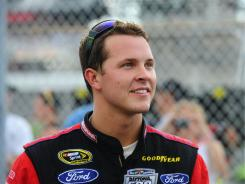 Trevor Bayne qualified 10th in Kentucky and finished 11th in Friday's Nationwide race.