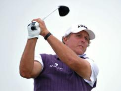 Phil Mickelson of the USA, who has never had great success at the British Open, is trying a new approach this year.