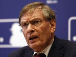 Commissioner Bud Selig spoke before the All-Star Game.