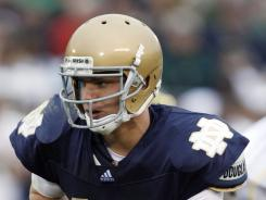 Nate Montana, son of Joe Montana, received a 90-day jail sentence Tuesday after pleading guilty to a DUI. In February, Montana transferred from Notre Dame to Montana.
